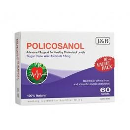 Policosanol Sugar Cane Wax 10mg 60 tabs