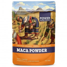 Maca Power Raw Organic Maca Powder 1kg