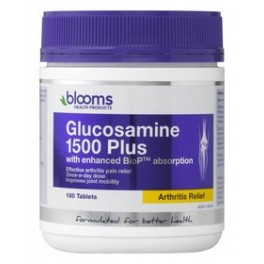 Blooms Glucosamine 1500 Plus enhanced with BioP