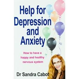 Help for Depression & Anxiety Book by Dr Sandra Cabot